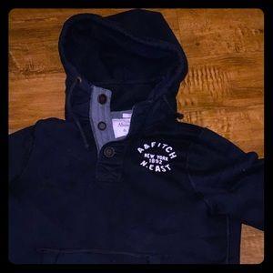 Abercrombie jacket hoodie! Navy Blue!!